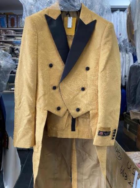 Boys gold suit
