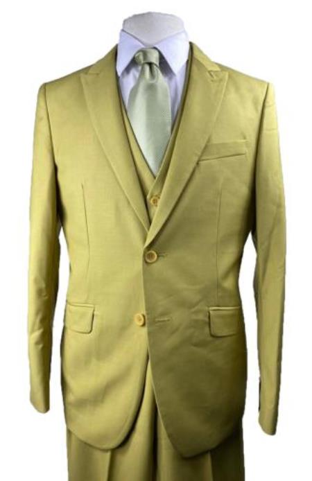 Boys yellow suits