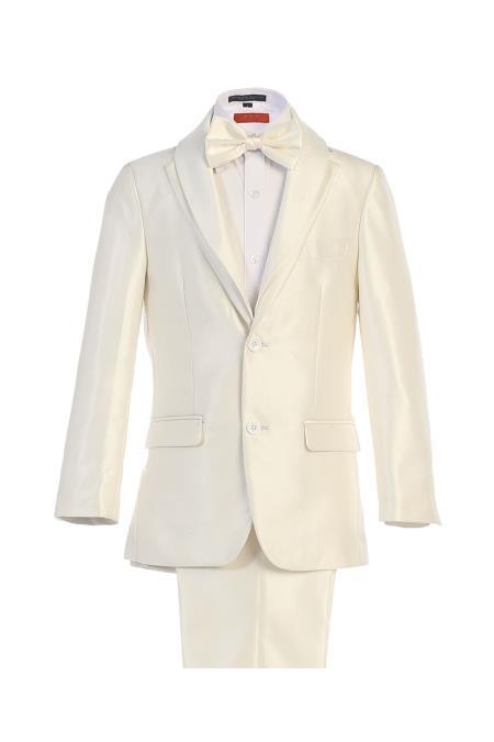Boys white suit